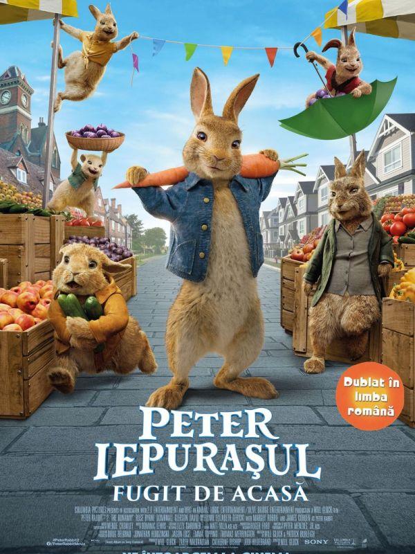 Peter Iepurasul: Fugit de Acasa (2D) DUB