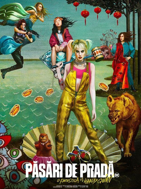 Pasari De Prada Si Fantastica Harley Quinn